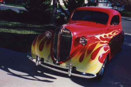 Flame Paint Jobs