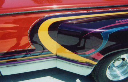 Custom Auto Graphics Airbrushing - Auto graphics for car