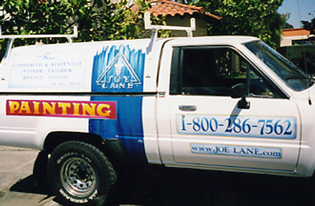 Logo Painting For Company Vehicles
