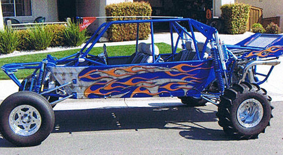 Custom Airbrush Graphics On Sand Rails Sand Cars And Off Road Vehicles