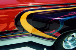 Airbrushing graphics and pinstriping for trucks and autos, tricked out cool graphics for your car or truck
